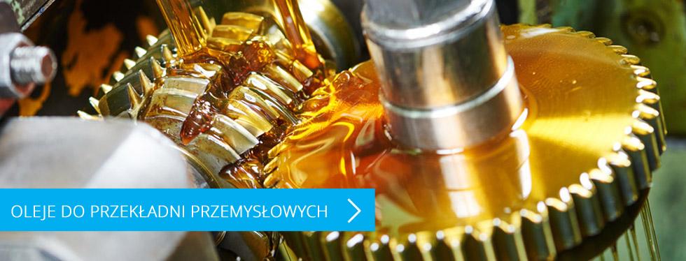 Oleje do przekładni przemysłowych